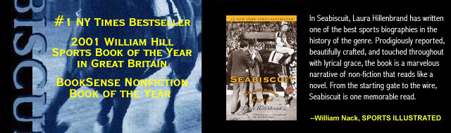 Seabiscuit An American Legend by Laura Hillenbrand